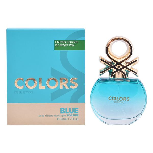 Naisten parfyymi Colors Blue Benetton EDT (50 ml)