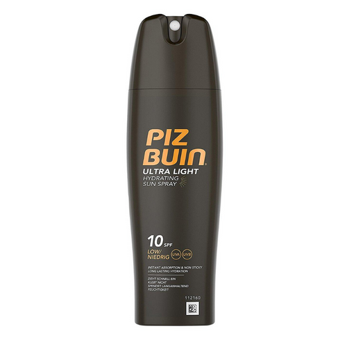 Aurinkosuoja Ultra Light Hydrating Sun Spray Piz Buin SPF 10 (200 ml)