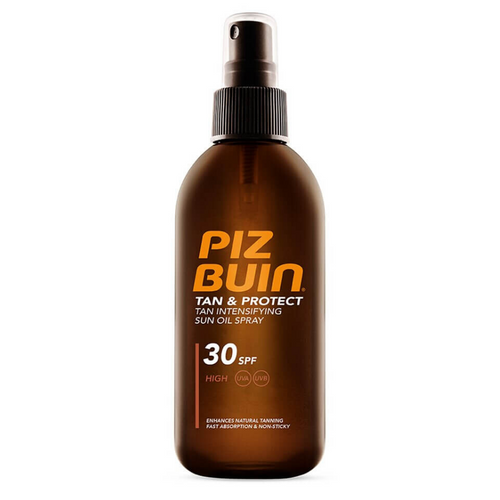Aurinkoöljy Tan & Protect Oil Spray Piz Buin SPF 30 (150 ml)