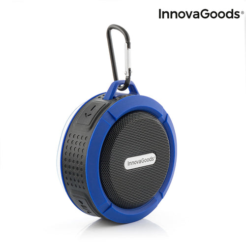 InnovaGoods DropSound Waterproof Portable Wireless Bluetooth Speaker