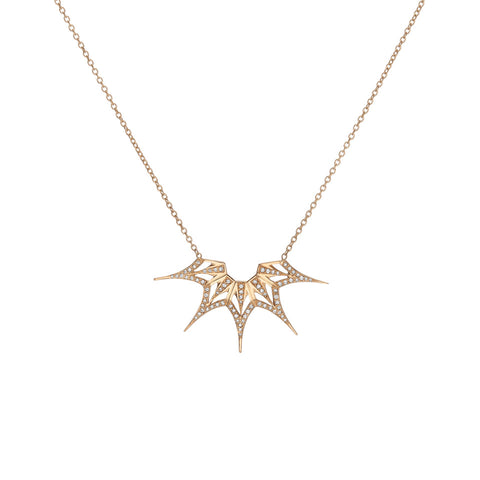 Mini Supernova Burst Necklace
