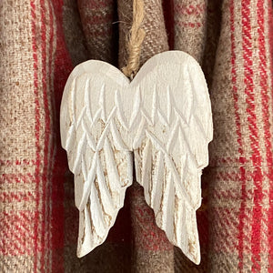 Angel Wings Hanging Christmas Decoration - Butterfly Crafts