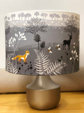 Load image into Gallery viewer, Drum Lampshade with Artwork by Penny Gaj - Butterfly Crafts
