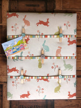 Load image into Gallery viewer, Fabric Notice Board - Bunnies - Butterfly Crafts
