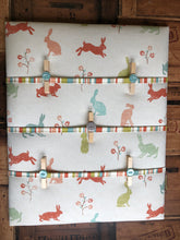 Load image into Gallery viewer, Fabric Notice Board - Bunny Rabbit - Butterfly Crafts