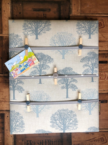 Fabric Notice Board, Trees - Butterfly Crafts