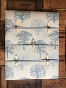 Fabric Notice Board - Trees - Butterfly Crafts