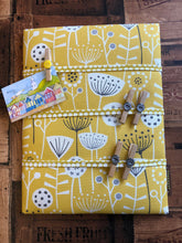 Load image into Gallery viewer, Fabric Notice Board - Yellow Flowers - Butterfly Crafts