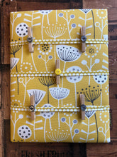 Load image into Gallery viewer, Fabric Notice Board, Yellow Flowers - Butterfly Crafts