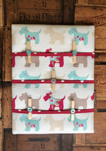Load image into Gallery viewer, Fabric Notice Board - Scotty Dog - Butterfly Crafts