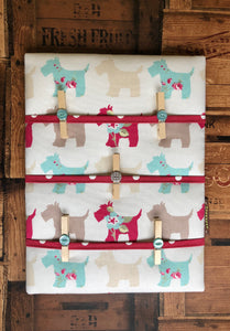 Fabric Notice Board - Scotty Dog - Butterfly Crafts