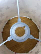 Load image into Gallery viewer, Drum Lampshade - Stripes and Stars - Butterfly Crafts