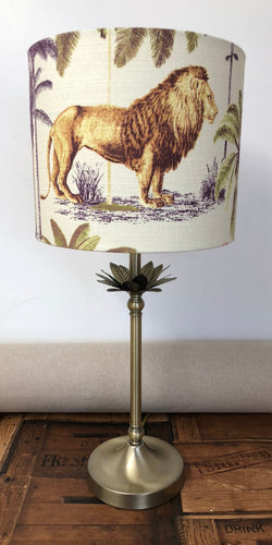 Drum Lampshade - Safari - Butterfly Crafts