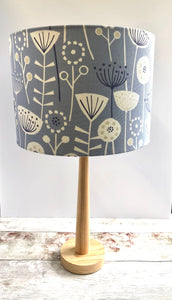 Drum Lampshade - Scandinavian Print - Butterfly Crafts