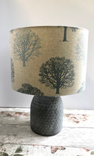 Load image into Gallery viewer, Drum lampshade - Trees - Butterfly Crafts