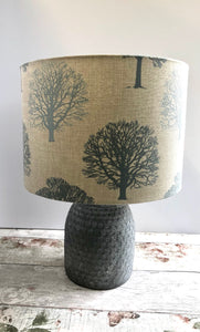 Drum lampshade - Trees - Butterfly Crafts