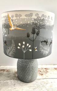 Drum Lampshade with Artwork by Penny Gaj - Butterfly Crafts