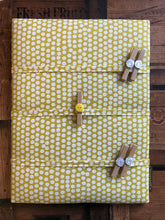 Load image into Gallery viewer, Fabric Notice Board, Yellow Spots - Butterfly Crafts