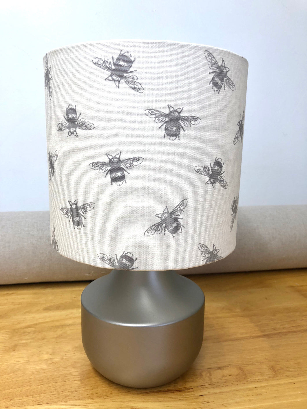 Drum lampshade - Small Bees - Butterfly Crafts