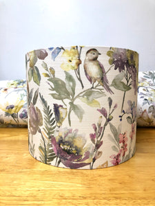 Drum Lampshade, Flowers - Butterfly Crafts