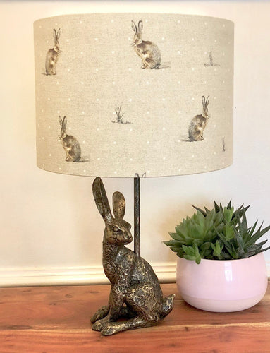 Drum Lampshade- Hare - Butterfly Crafts