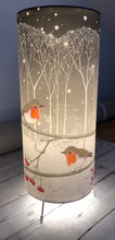 Load image into Gallery viewer, Lamp with Artwork by Penny Gaj - Butterfly Crafts