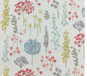 Fabric available by the metre - Floral Dandelion by Marson - Butterfly Crafts