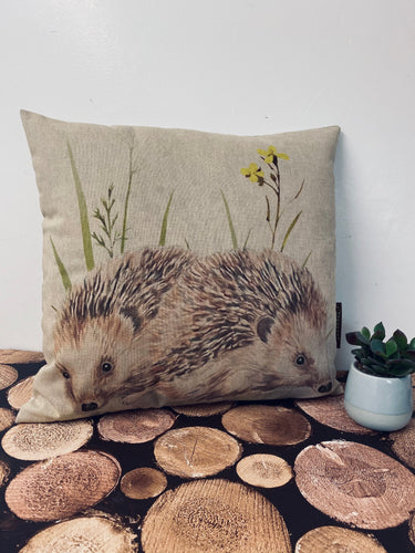 Fabric Cushion, Hedgehogs - Butterfly Crafts