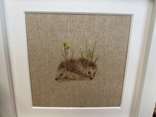 Load image into Gallery viewer, Fabric Picture Hedgehogs - Butterfly Crafts