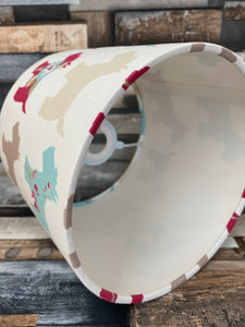 Drum Lampshade - Scotty Dog - Butterfly Crafts