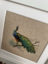 Load image into Gallery viewer, Fabric Picture Peacock - Butterfly Crafts