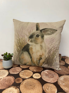 Fabric Cushion, Rabbit - Butterfly Crafts