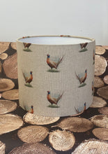 Load image into Gallery viewer, Drum lampshade - Country Pheasant - Butterfly Crafts
