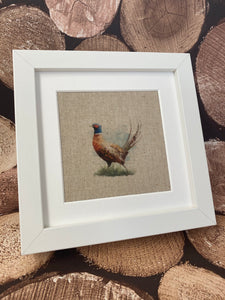 Fabric Picture Pheasant - Butterfly Crafts