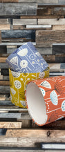 Load image into Gallery viewer, Drum Lampshade - Scandinavian Print - Butterfly Crafts