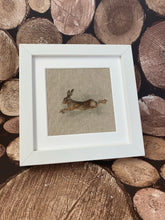 Load image into Gallery viewer, Fabric Picture Leaping Hare - Butterfly Crafts
