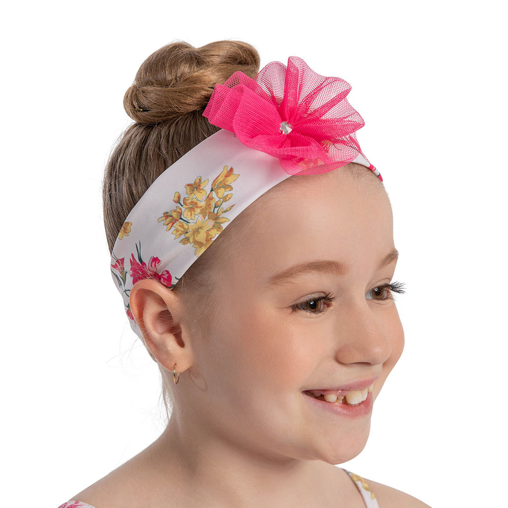 A0088 - Danse De Paris 'Florette' Headband With Diamante