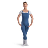 U3700M - Bloch Curtis Tank Strap Seamed Mens Unitard