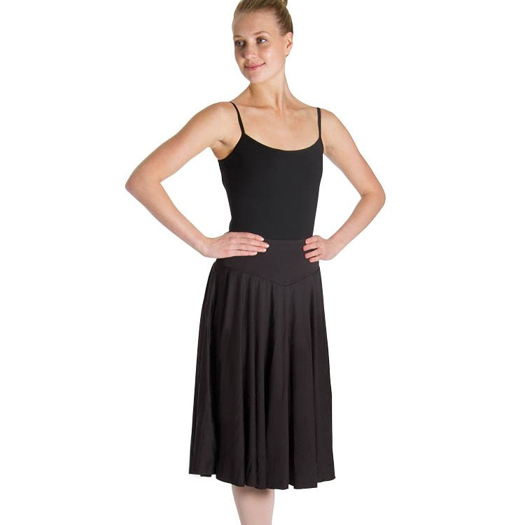 AM523 – Mirella Brianna Knee Length Womens Circle Skirt