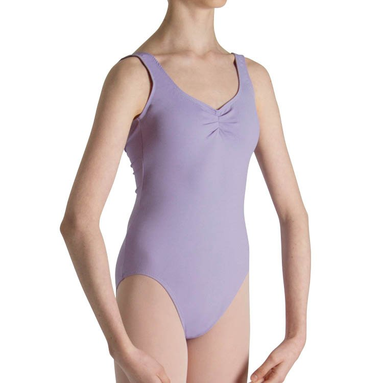 L3888G - Bloch Cecilia Gathered Tank Girls Leotard