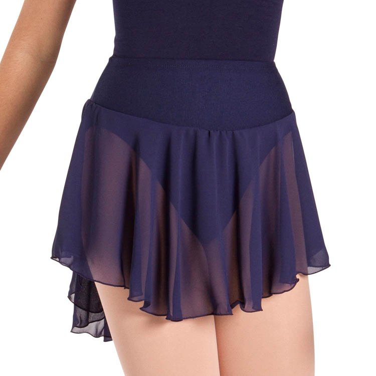 A0348L – Bloch Duette Tapered Short Womens Skirt
