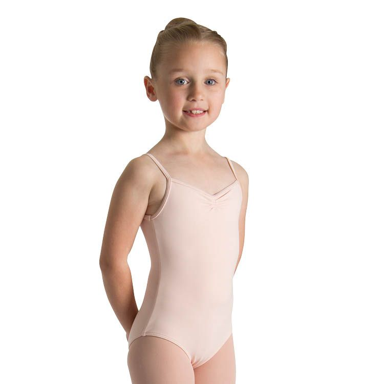 L51607G - Bloch Teresa Pinch Front And Back Girls Leotard