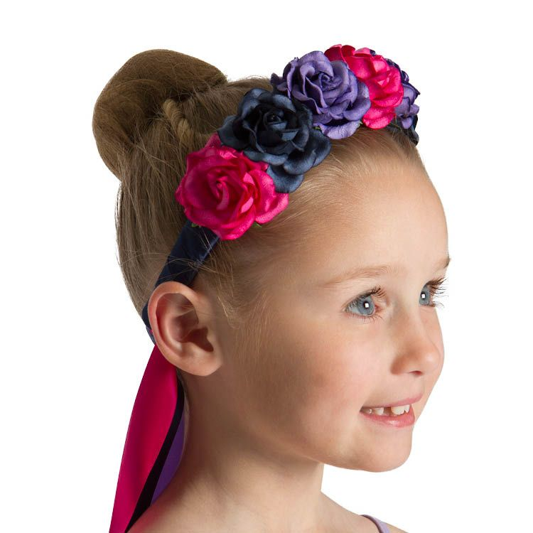30098 – Bloch RAD Flower Head Dress