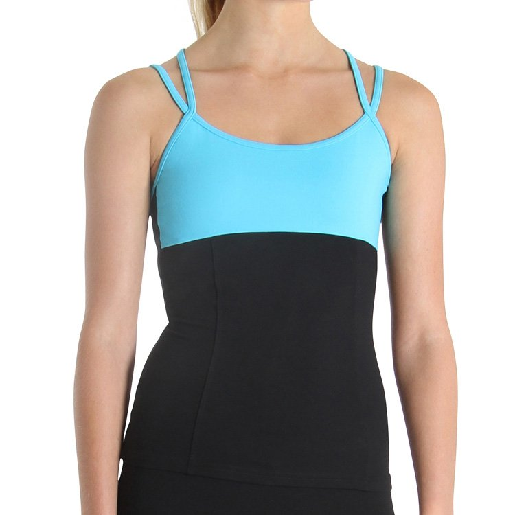ZF5817 - Bloch Double Cross Womens Cami