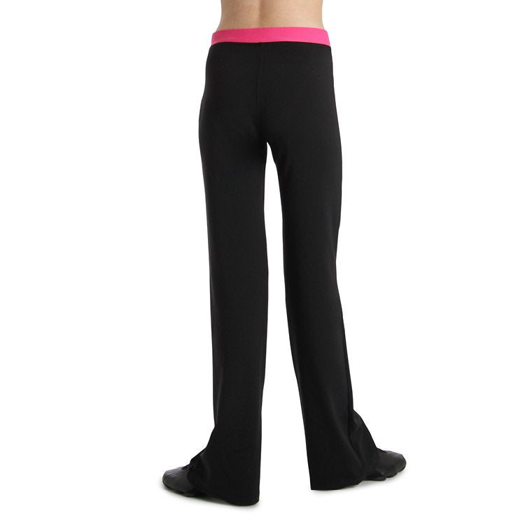 PF5801G – Bloch V Front Girls Pant