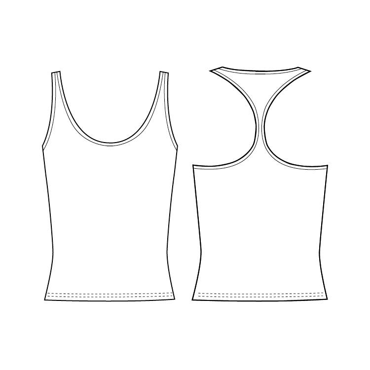 ZF5814G - Bloch T Back Girls Singlet
