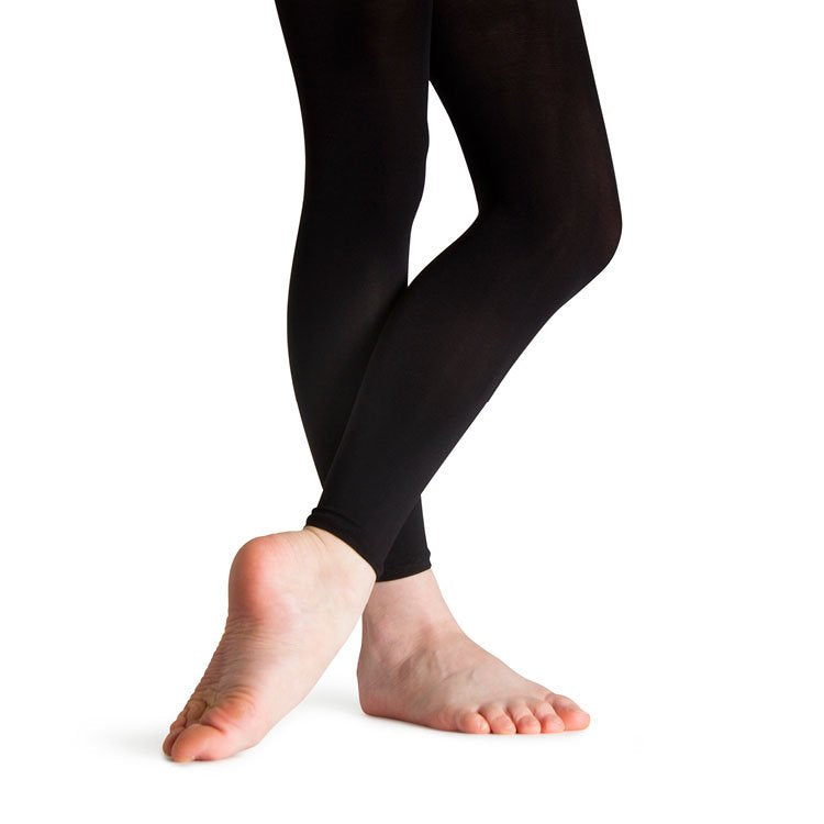 T0230G - Bloch Elite Footless Girls Tights