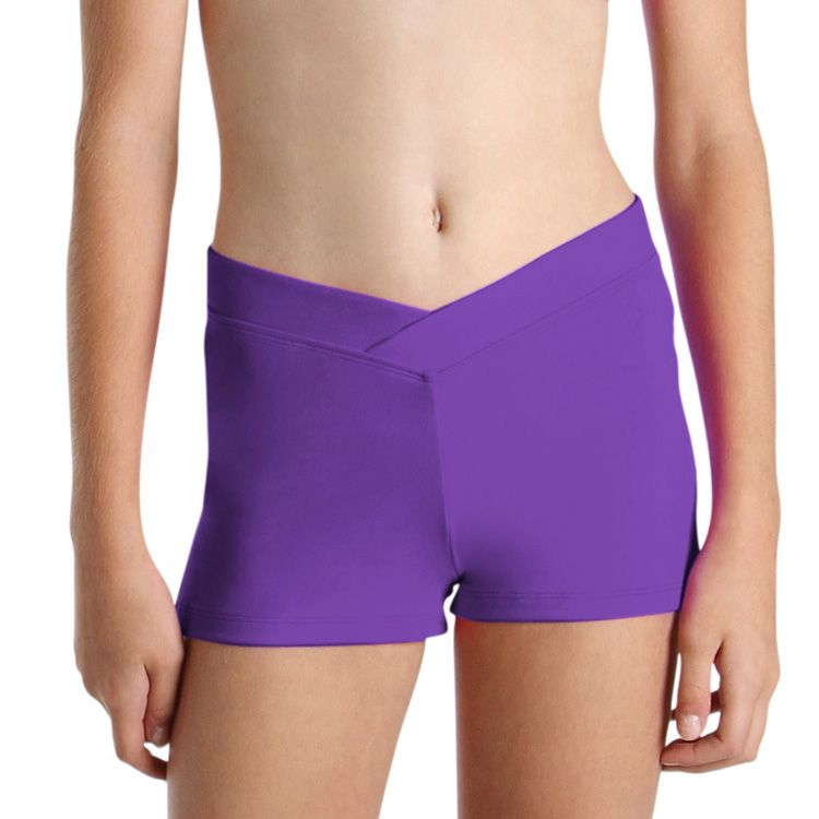 DF5801G - Bloch V Front Girls Short