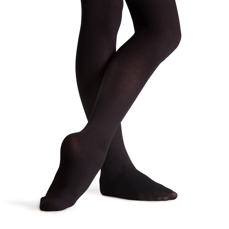 T3331G - Bloch Feathersoft Footed Girls Tights