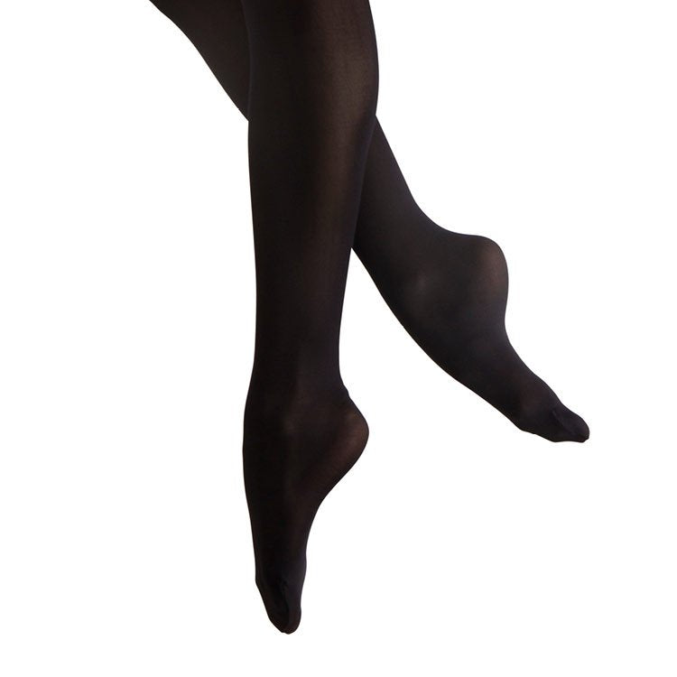 T3331L - Bloch Feathersoft Footed Womens Tights